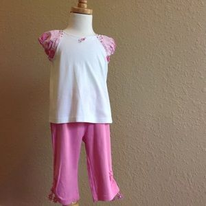 Other - Gymboree CALYPSO patchwork shirt pants girls 3T